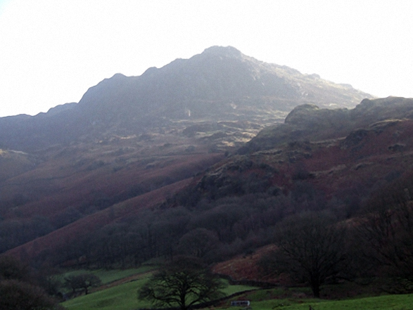 Harter Fell (Eskdale) from Eskdale