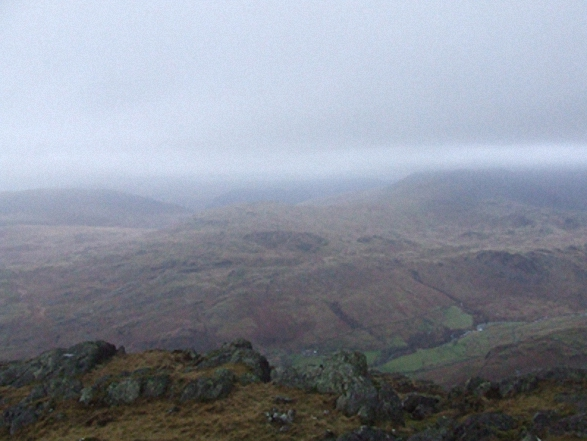 The view from Harter Fell (Eskdale) summit