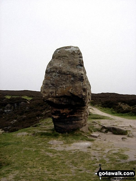 The Cork Stone on Stanton Moor