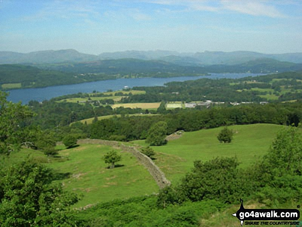 Lake Windermere (North) from Orrest Head