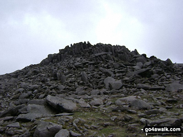 Bow Fell (Bowfell) summit
