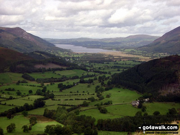 Bassenthwaite from Cat Bells (Catbells)