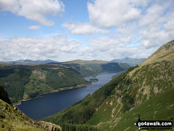 Thirlmere from Helvellyn