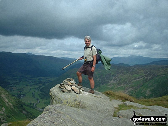 Tony Price on Eagle Crag