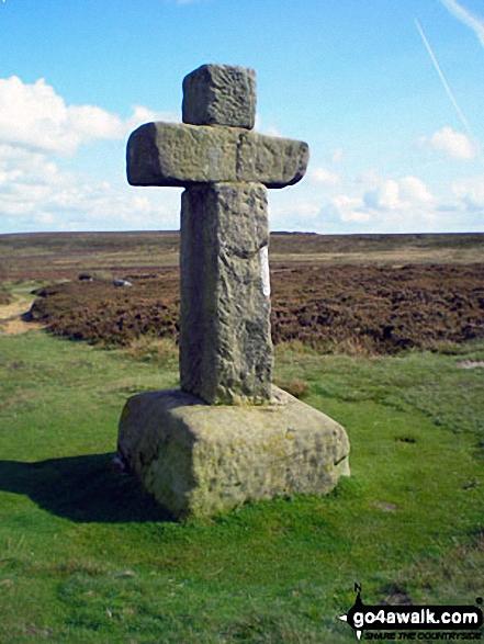 Cowper's Cross on Rombalds Moor (Ilkley Moor)