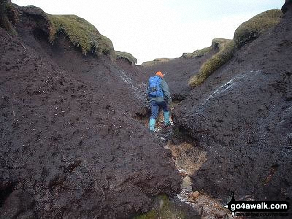 The Perils of getting lost on the Kinder Scout