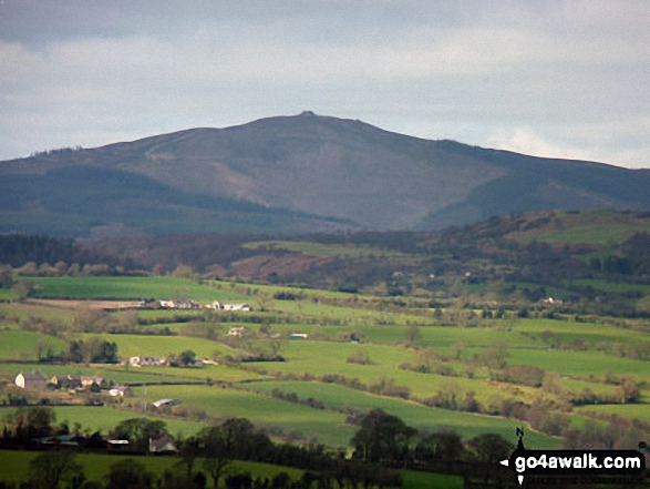 Moel Famau from Hope Mountain