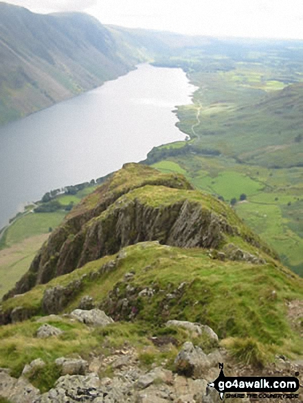 Wast Water from Yewbarrow
