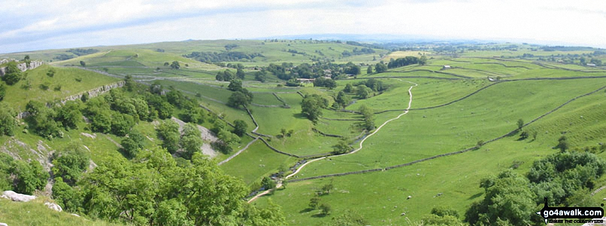 *View from the from the top of Malham Cove