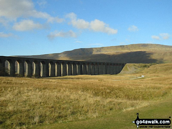 Walk Picture/View: Ribblehead Viaduct with Whernside beyond in The Southern Fells Area, The Yorkshire Dales, North Yorkshire, England by Wayne Hill (51)