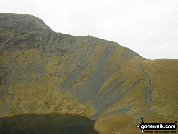 Sharp Edge, Blencathra or Saddleback (Hallsfell Top)