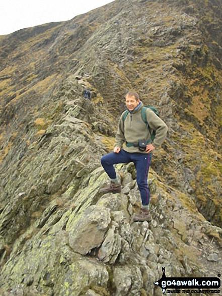 Sharp Edge, Blencathra or Saddleback (Hallsfell Top)