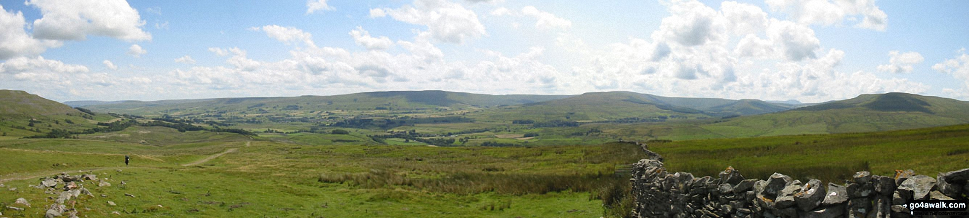 Wensleydale from Great Shunner Fell