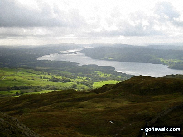 Windermere from Baystones (Wansfell)