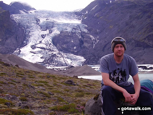 Me and another Glacier