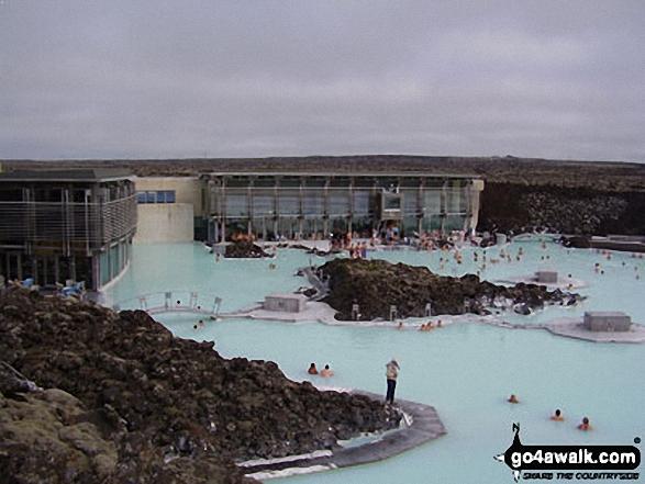 The famous Blue Lagoon, Grindavik