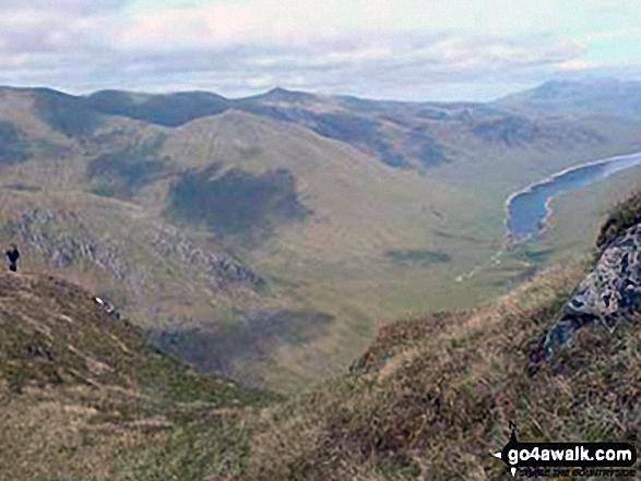 Loch Monar from Bidein a' Choire Sheasgaich