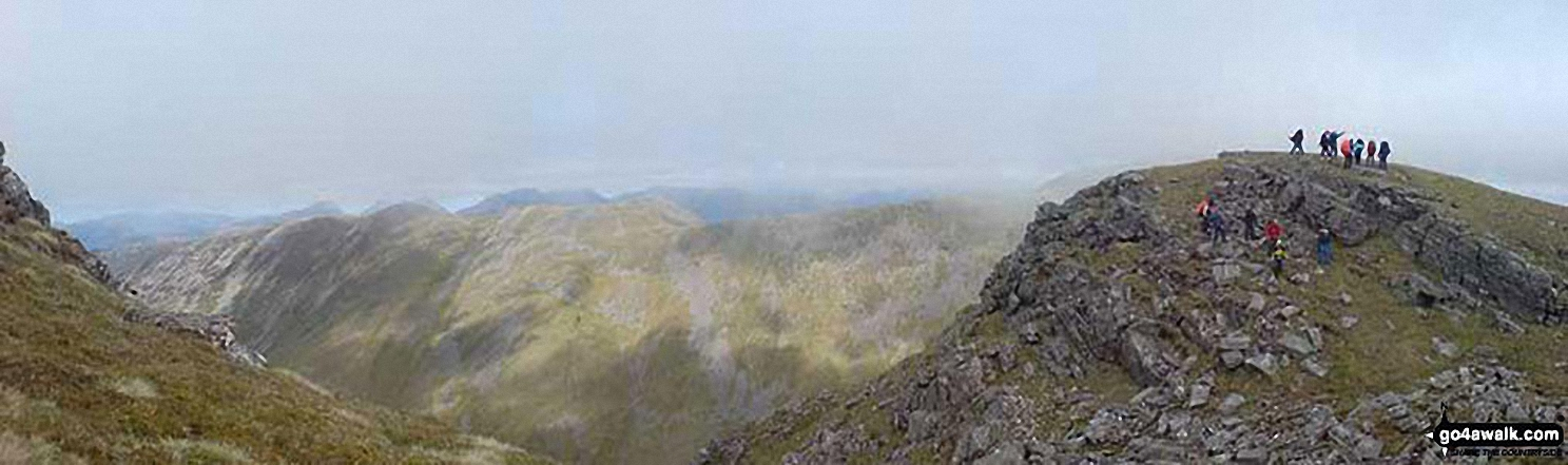 The Grey Corries from Sgurr Choinnich Mor