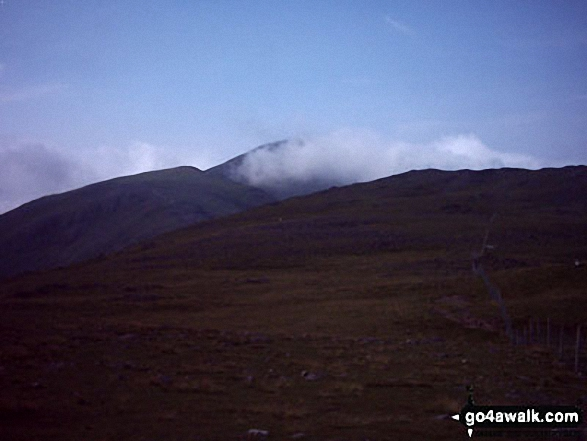Green Gable and Great Gable from Grey Knotts