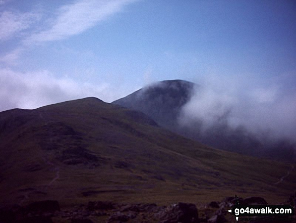 Green Gable and Great Gable from Brandreth