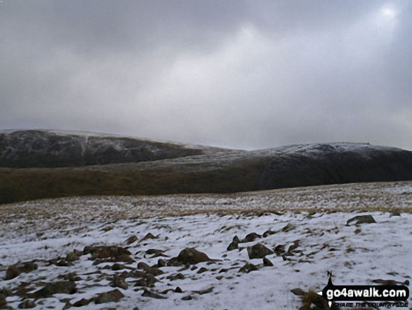 Walk c153 Thornthwaite Crag from Troutbeck - Thornthwaite Crag & High Street from below Stony Cove Pike (Caudale Moor)