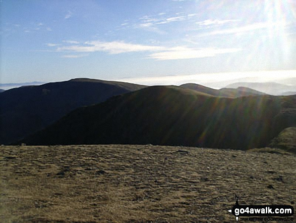 Dollywaggon Pike from Nethermost Pike