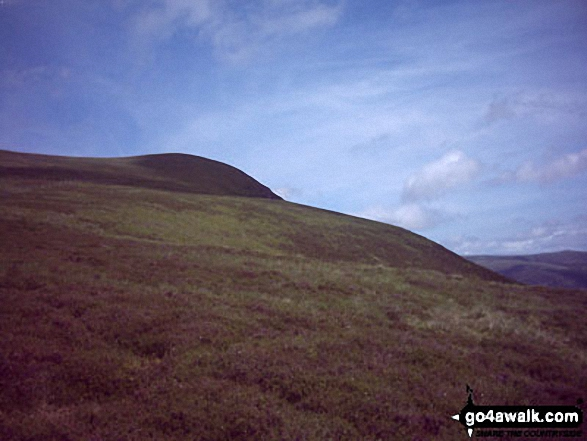 Lonscale Fell from (above) Gale Road