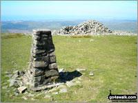 Walk Seatallan walking UK Mountains in The Western Fells The Lake District National Park Cumbria    England
