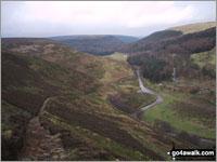 Walk Seal Stones (Kinder Scout) walking UK Mountains in The Dark Peak Area The Peak District National Park Derbyshire    England
