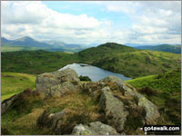 Walk Wool Knott in  The Southern Marches Cumbria