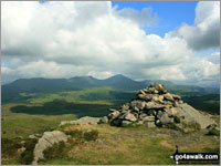 Walk the Wainwright Outliers - Beacon (Blawith Fells)