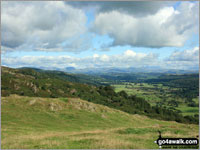Walk Cartmel Fell (Raven's Barrow) in  The Southern Marches Cumbria