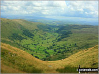 Walk Goat Scar walking UK Mountains in The Far Eastern Fells The Lake District National Park Cumbria    England