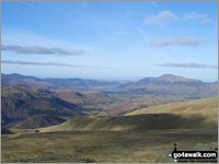 Walk Raise (Helvellyn) in  The Eastern Fells Cumbria