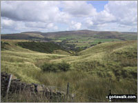 Walk Bull Hill (Holcombe Moor) walking UK Mountains in The South Pennines and The Forest of Bowland  Lancashire Greater Manchester   England