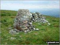 Walk Tarren y Gesail walking UK Mountains in The Cadair Idris Area Snowdonia National Park Gwynedd    Wales