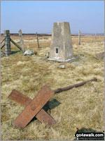 Walk Black Fell (Haresceugh Fell) in  The North Pennines  Cumbria, England