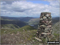Walk Red Screes in  The Eastern Fells  of The Lake District National Park, Cumbria, England