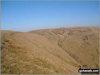 Walk Waun Rydd walking UK Mountains in The Brecon Beacons Area The Brecon Beacons National Park Powys    Wales