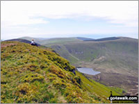 Walk Craig-y-llyn in  The Cadair Idris Area  of Snowdonia National Park, Gwynedd, Wales