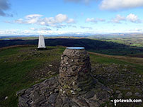 Walk Winder Hill walking UK Mountains in The Howgill Fells The Yorkshire Dales National Park Cumbria    England