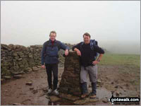 Walk Pen-y-ghent walking UK Mountains in The Southern Dales The Yorkshire Dales National Park North Yorkshire    England