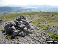 Walk Manod Mawr walking UK Mountains in The Molewyns Area Snowdonia National Park Gwynedd    Wales