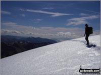 On the summit of Ben Nevis The UK's highest Marilyn