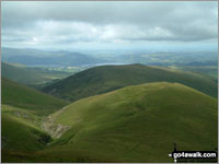Walk Meal Fell in  The Northern Fells  of The Lake District National Park, Cumbria, England