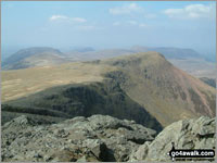 Walk High Stile in  The Western Fells Cumbria