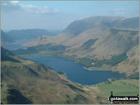 Walk the Wainwrights in 59 Walks - The view from the summit of Hay Stacks - Alfred Wainwright's favourite fell