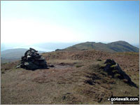 Walk Baystones (Wansfell) walking UK Mountains in The Far Eastern Fells The Lake District National Park Cumbria    England