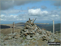 Walk Great Calva in  The Northern Fells  of The Lake District National Park, Cumbria, England