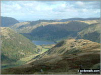 Walk High Hartsop Dodd walking UK Mountains in The Eastern Fells The Lake District National Park Cumbria    England